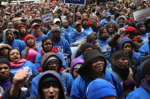 Chicago Rally Protests Public School Closings
