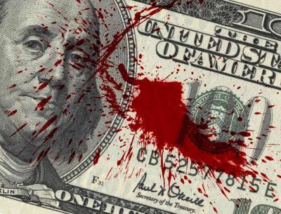 BLOOD ON MONEY