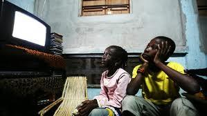 black children watching tv 5