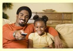 black children watching tv 6