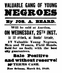 slave sale flyer 1