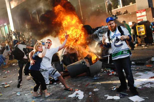 Whites rioting 8