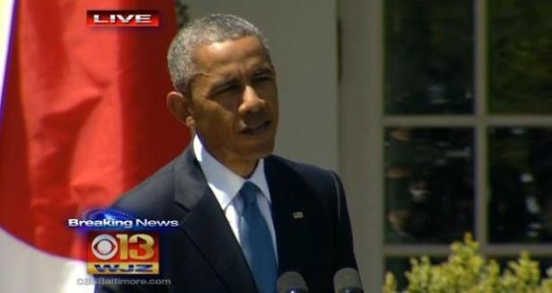 Obama on Baltimore