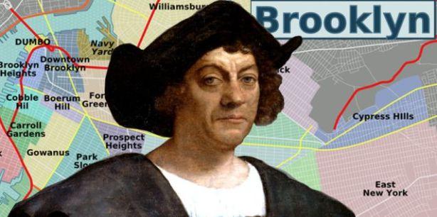 Christopher Columbus white jogger