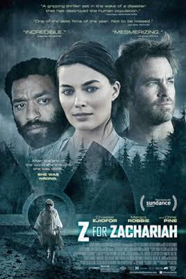 Z for Zachariah movie image